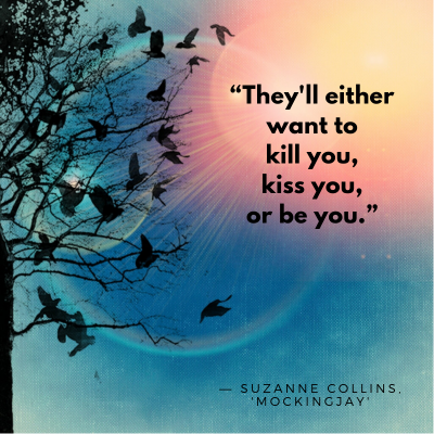 Suzanne Collins Mockingjay Book Quote