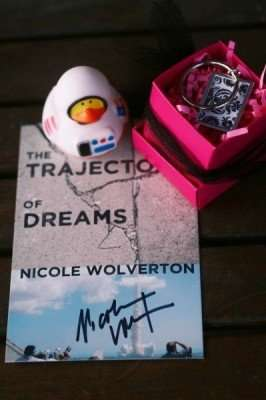 International Giveaway celebrating The Trajectory of Dreams release
