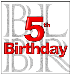 5th Birthday Banner
