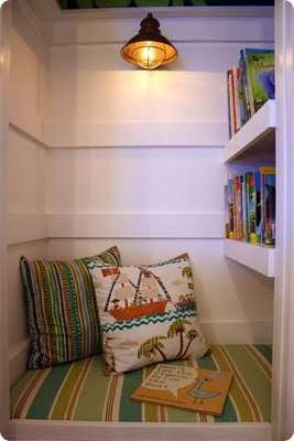 Creating the ultimate book nook