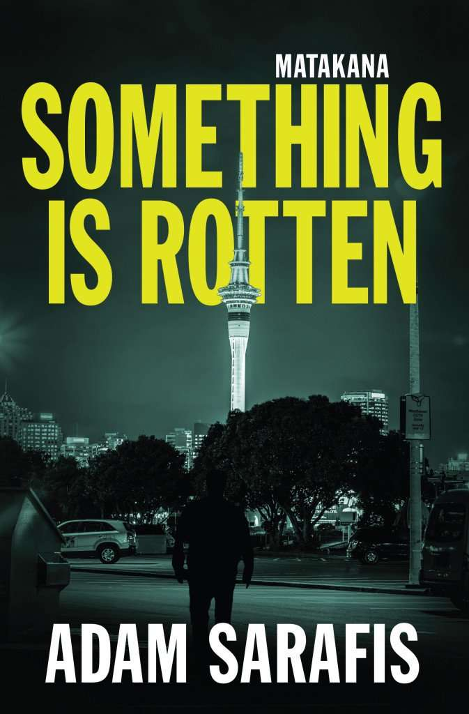 Interview & Book Giveaway – Adam Sarafis, author of SOMETHING IS ROTTEN
