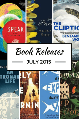 Book releases in July 2015 worth checking out