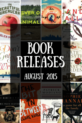 Book releases that have caught my eye August 2015