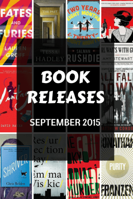 Book releases that have caught my eye September 2015