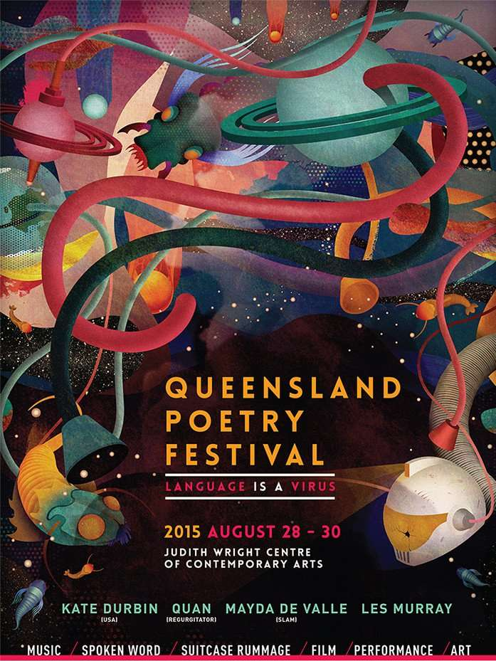 Queensland Poetry Festival 2015 - Language Is A Virus