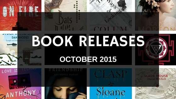 Book releases in October 2015