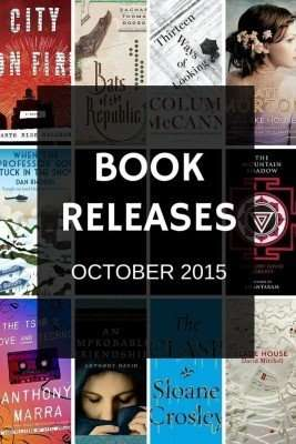 October book releases that have caught my eye – 2015
