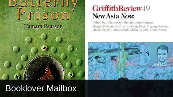 Booklover Mailbox - The Butterfly Prison and New Asia Now