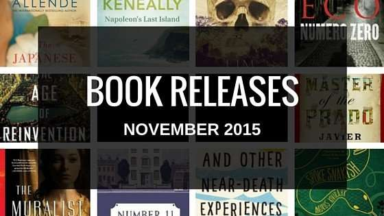 November 2015 book releases
