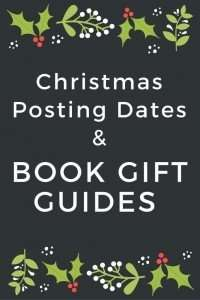 Christmas Posting Dates & Book Gift Guides