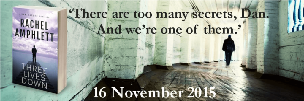 Three Lives Down by Rachel Amphlett release banner