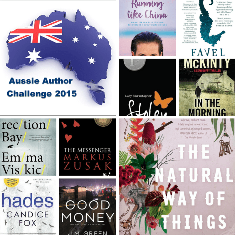 Aussie Author Challenge Favourites