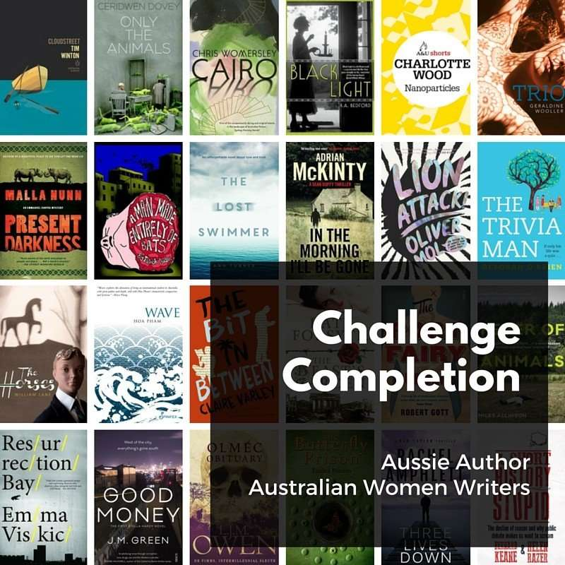 Aussie reading challenge completion