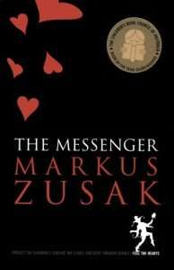 The Messenger Markus Zusak book cover