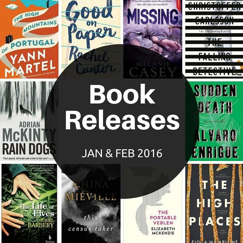 Book Releases January and February 2016
