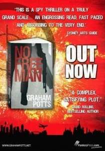 No Free Man by Graham Potts Launch Material
