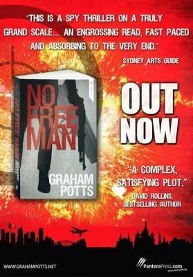 International Book Giveaway – NO FREE MAN by Graham Potts