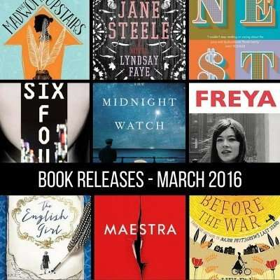 March book releases that have caught my eye – 2016