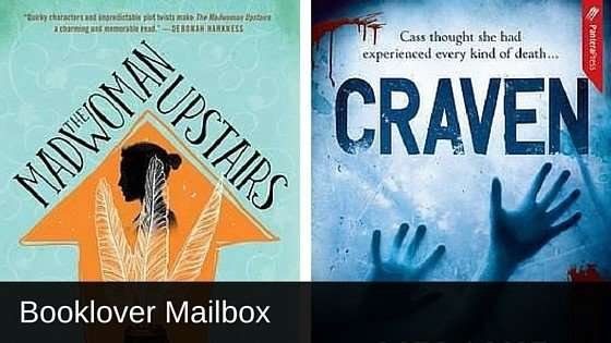 The Madwoman Upstairs by Catherine Lowell and Craven by Melanie Casey