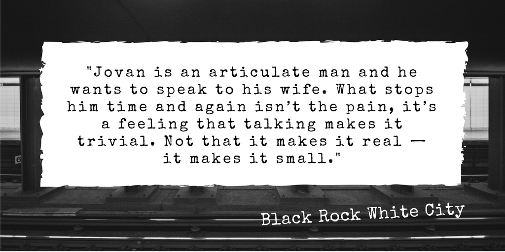 Black Rock White City Review Quote