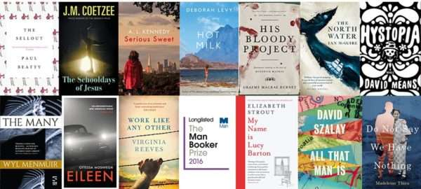 2016 Man Booker Dozen