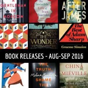New books August September 2016