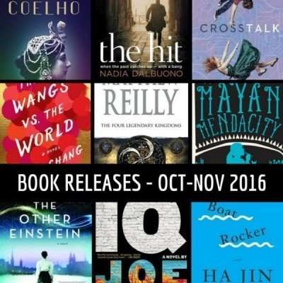 October & November book releases that have caught my eye – 2016