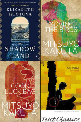Booklover Mailbox – The Shadow Land, Moving the Birds, Good Luck Bag, I for Isobel
