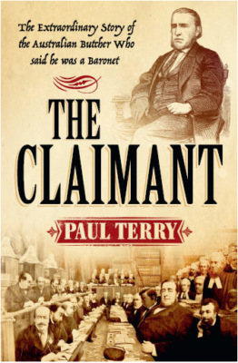 Guest Post & Giveaway – Paul Terry, author of The Claimant