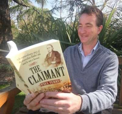 Paul Terry, author of The Claimant