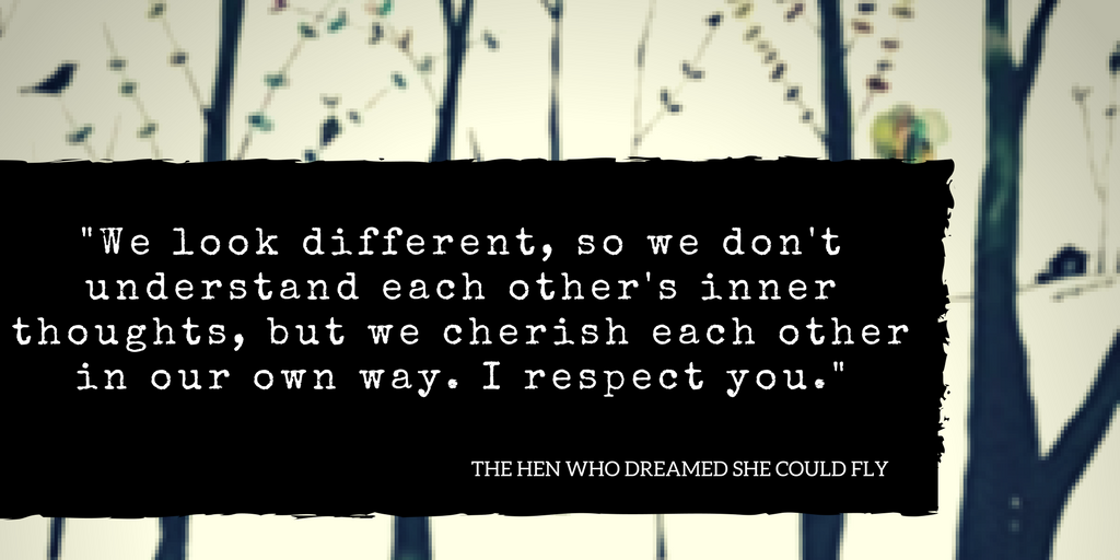 Sun-mi Hwang The Hen Who Dreamed She Could Fly Quote