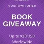 Choose your own prize BOOK GIVEAWAY up to $20USD