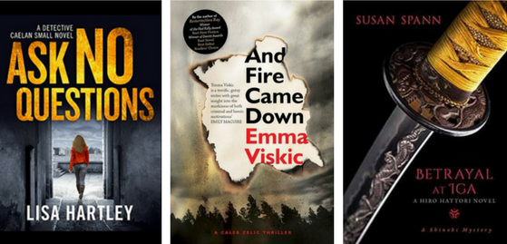 New books from Lisa Hartley, Emma Viskic and Susan Spann