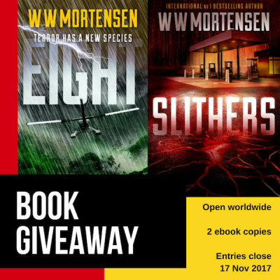 WW Mortensen Eight & Slithers Giveaway