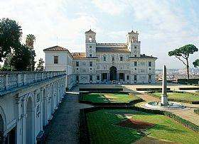 Villa Medici near the Spanish Steps