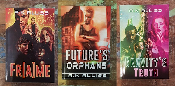 Frame, Future's Orphans and Gravity's Truth - AK Alliss