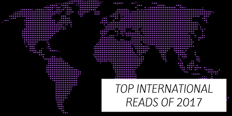 Top Books of 2017 - International Authors