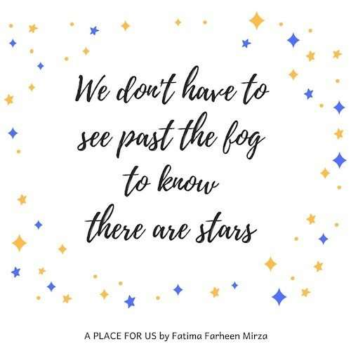 A Place For Us Quote - Fatima Mirza