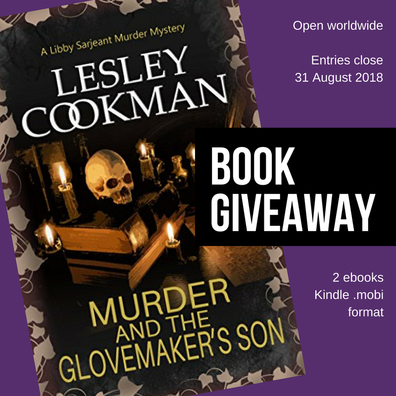 Worldwide Book Giveaway - Libby Sarjeant Murder Mystery