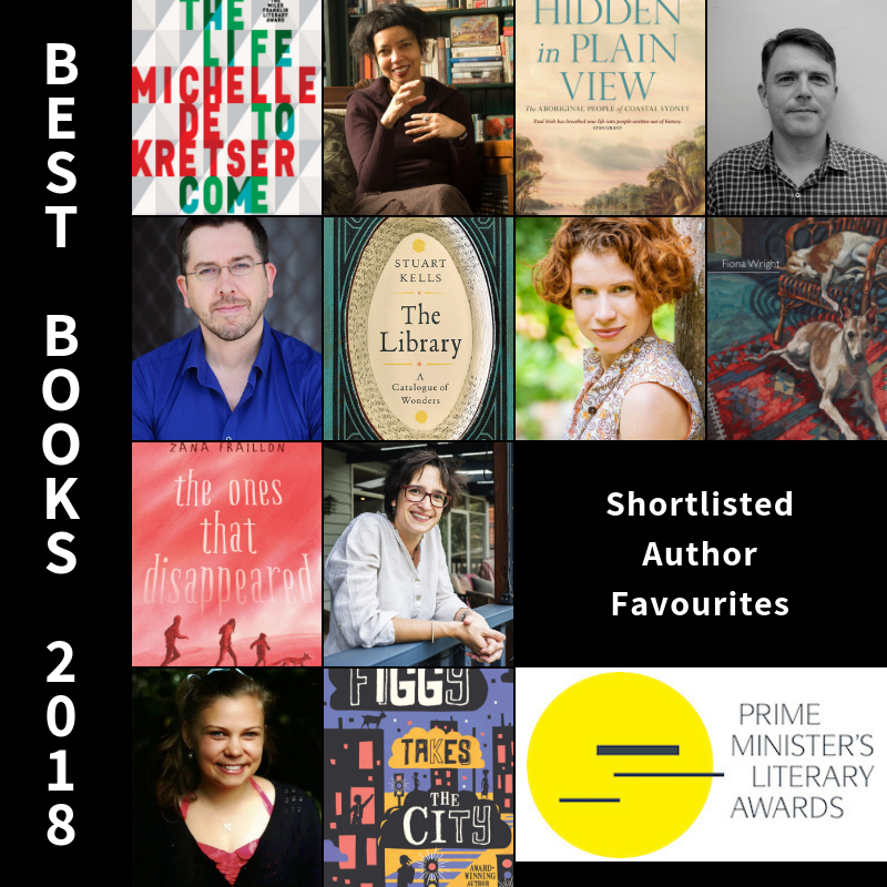 Best Books of 2018 - Authors Shortlisted for Prime Minister's Literary Awards