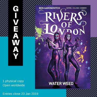 Rivers of London Graphic Novel Giveaway