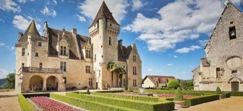 Chateau of Milandes, once owned by Josephine Baker