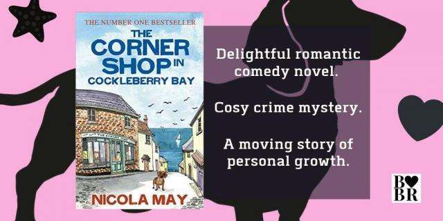 The Corner Shop in Cockleberry Bay by Nicola May Banner
