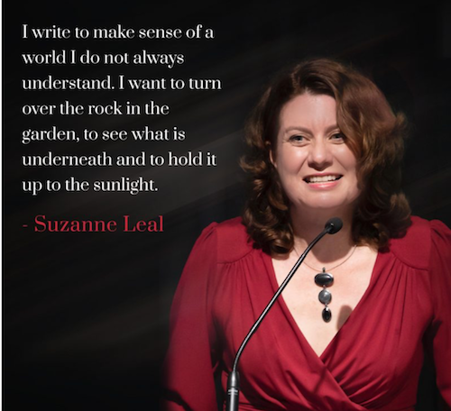 Suzanne Leal Quote - Why I Write